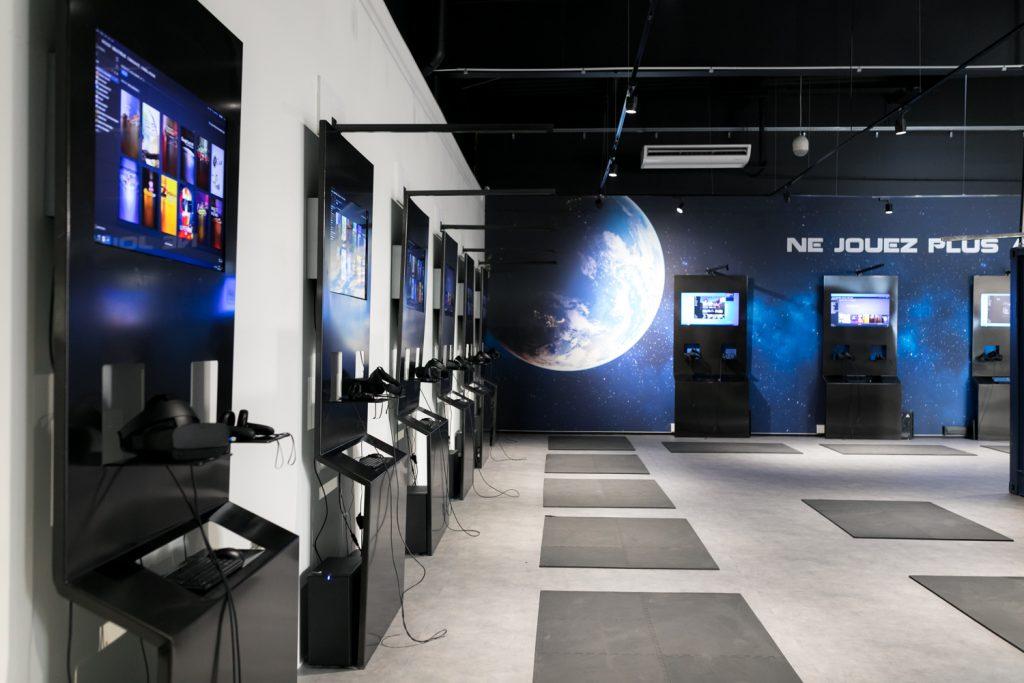 terragame, espace de réalité virtuelle